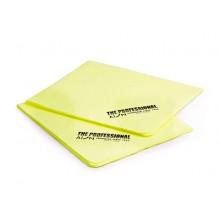 Aion Professional Chamois - влаговпитывающая ткань для профессионального использования, 430x325 мм, желтая 2шт