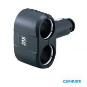 Carmate 2 Way Socket - Разветвитель прикуривателя на 2 гнезда