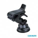 Carmate Smartphone Holder ME57 - Автомобильный держатель прищепка для телефона с креплением на стекло или торпеду