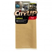 Салфетка из искусственной замши City Up СА-114 «Pearl» 40x35 см