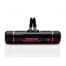 Ароматизатор на кондиционер Eikosha GIGA Clip Black Pink Shower - Розовый дождь G-44