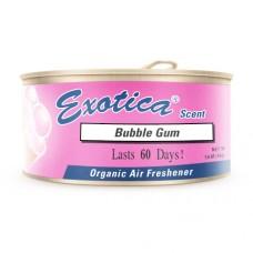 Ароматизатор органический Exotica Scent Organic Bubble gum - Жевательная резинка