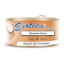 Ароматизатор органический Exotica Scent Organic Coconut - Кокос