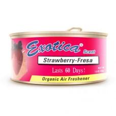 Ароматизатор органический Exotica Scent Organic Strawberry - Клубника