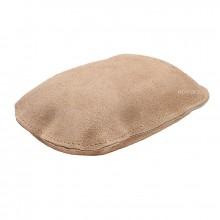 Губка замшевая полировочная Главдор, натуральная замша, 12х8х4 см