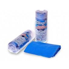Ткань водопоглощающая Clingo, в тубе, 43х32 см, голубой