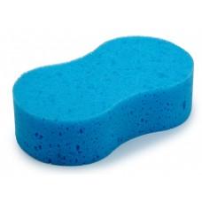 Губка для мытья автомобиля Clingo, 21х12,5х5,8 см, полиэфир, голубой