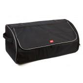 Органайзер в багажник автомобиля iSky, с крышкой, 74х33х31 см, черный, 65л