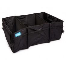 Органайзер в багажник iSky, полиэстер, 63x39x26 см, черный, 64л