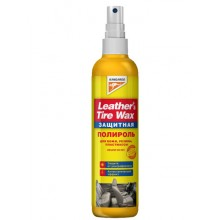 Leather&Tire wax Protectant - защитный полироль панели 300ml