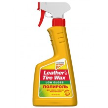 Leather&Tire wax Low Gloss - матовый полироль панели 500ml