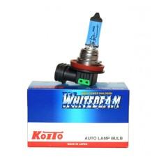 H11 12V 55W (100W) 4000K галогенная лампа Koito WhiteBeam 0750W, 1 шт