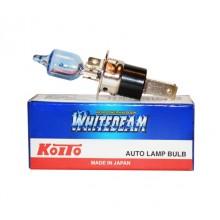 H3С 12V 55W (100W) 4000K галогенная лампа Koito WhiteBeam 0753W, 1 шт