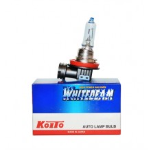 H9 12V 65W (120W) 4000K галогенная лампа Koito WhiteBeam 0759W, 1 шт
