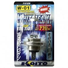 H4U 12V 60/55W (110/110) 3770K галогенная лампа Koito WhiteBeam P0732W, 1 шт