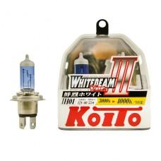IH01 12V 60/55W (100/90W) 4000K галогенные лампы Koito WhiteBeam P0745W, 2 шт