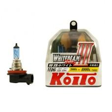 H16 12V 19W 4000K галогенные лампы Koito WhiteBeam P0749W, 2 шт