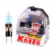 H3С 12V 55W (100W) 4000K галогенные лампы Koito WhiteBeam P0753W, 2 шт