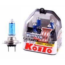 H7 12V 55W (100W) 4200K галогенные лампы Koito WhiteBeam P0755W, 2 шт