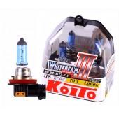 H8 12V 35W (70W) 4000K галогенные лампы Koito WhiteBeam P0758W, 2 шт