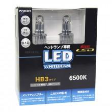 HB3 LED 12V 14W 6500K светодиодные лампы Koito LED WhiteBeam P213KWT, 2 шт