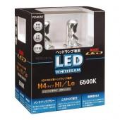 H4 LED 12V/24V 11W 6500K светодиодные лампы Koito LED WhiteBeam P214KWT, 2 шт