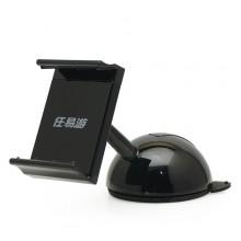 Автомобильный держатель телефона с креплением на стекло или торпеду