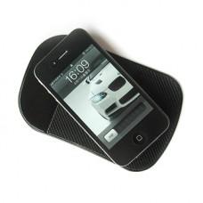 Anti-Slip Pad - Липкий силиконовый коврик для телефона черный 140х80 мм
