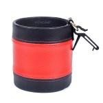 Подвесная корзиночка для телефона и мелочей, круглая, черно-красная