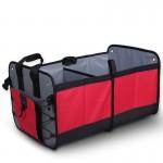 Органайзер в багажник автомобиля складной, 60х37х32 см, красный, 70л