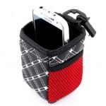 Подвесная корзиночка для телефона и мелочей Ruilite WL клетчатая