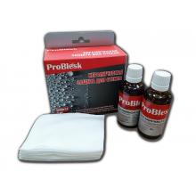Керамическое водоотталкивающее покрытие для стекла, антидождь ProBlesk (50мл +50 мл)
