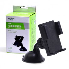 Shunwei SD-1115 - Автомобильный держатель телефона с креплением на стекло, торпеду и дефлектор