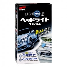 Light One - Покрытие и полироль для фар и прозрачного пластика 50+8ml