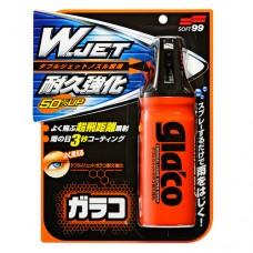 """Glaco """"W"""" Jet Strong - водоотталкивающий спрей антидождь для стекла 180ml"""