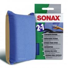 Губка для стекла Sonax