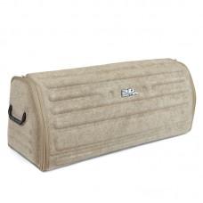 Органайзер сумка Sotra 3D Lux Large в багажник, 81x30x31 см, большой бежевый