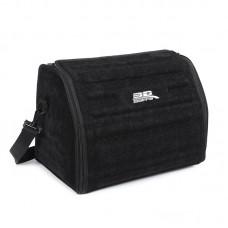 Органайзер сумка Sotra 3D Lux Small в багажник, 46x30x31 см, малый черный