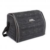 Органайзер сумка Sotra 3D Lux Small в багажник, 46x30x31 см, малый серый