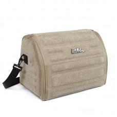 Органайзер сумка Sotra 3D Lux Small в багажник, 46x30x31 см, малый бежевый
