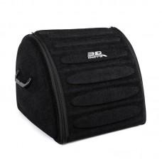 Органайзер сумка Sotra 3D Lux Hight в багажник, 44x39x35 см, высокий черный