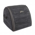 Органайзер сумка Sotra 3D Lux Hight в багажник, 44x39x35 см, высокий серый