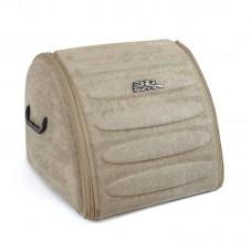 Органайзер сумка Sotra 3D Lux Hight в багажник, 44x39x35 см, высокий бежевый