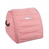 Органайзер сумка Sotra 3D Lux Hight в багажник, 44x39x35 см, высокий розовый