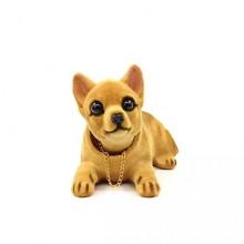 Игрушка на панель авто - Собака, качающая головой, Чихуахуа