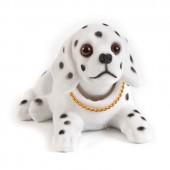 Игрушка на панель авто - Собака, качающая головой, Далматинец