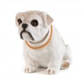 Игрушка на панель авто - Собака, качающая головой, Бульдог
