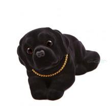 Игрушка на панель авто - Собака, качающая головой, Лабрадор