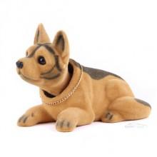Игрушка на панель авто - Собака, качающая головой, Овчарка