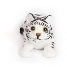 Игрушка на панель авто - Тигренок, качающий головой, белый